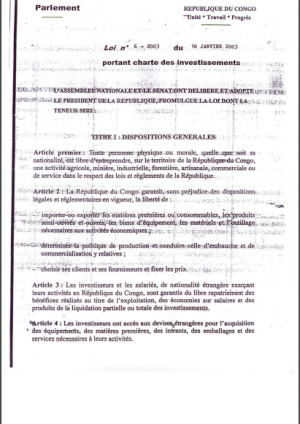 CI Congo 2003