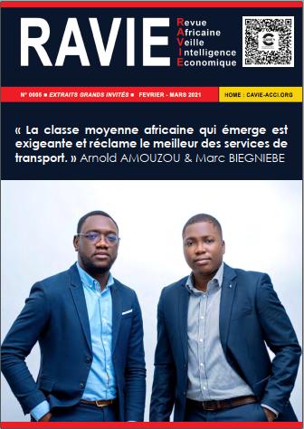 RAVIE N°5 - Arnold AMOUZOU & Marc BIEGNIEBE