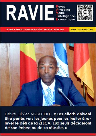 RAVIE N°5 - Desire Olivier AGBOTON