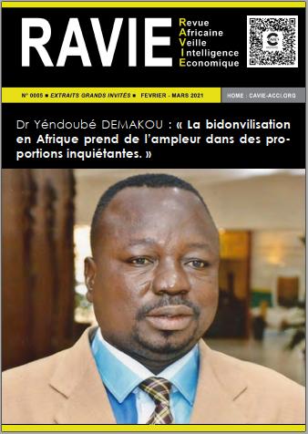 RAVIE N°5 - Dr Yendoube DEMAKOU